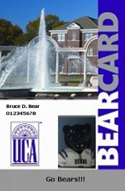 Icon representation of UCA BearCard