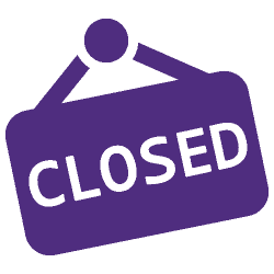 Icon of Closed sign