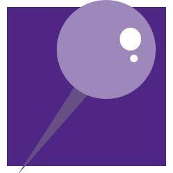 Icon of thumb tack