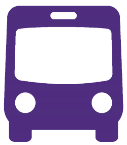 Icon of front of bus